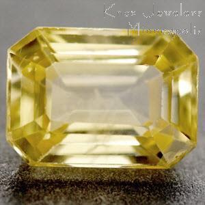 Sapphire Emerald 1.40 carat Yellow Photo