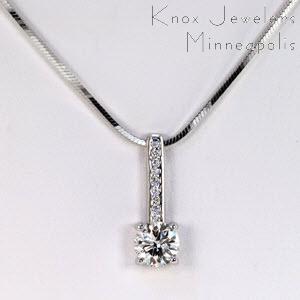 Milano Diamond Pendant - Pendants