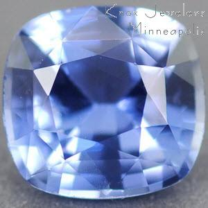 Sapphire Cushion 0.83 carat Blue Photo