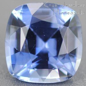 Sapphire Cushion 0.89 carat Blue Photo