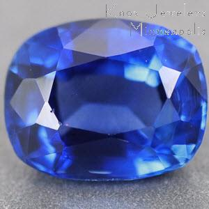 Sapphire Cushion 0.87 carat Blue Photo