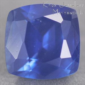 Sapphire Cushion 0.98 carat Blue Photo