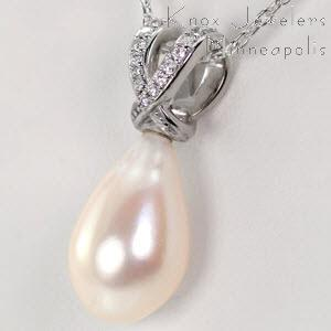 Diamond and Pearl Drop - Pearls - pearls