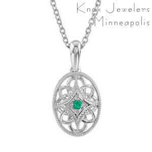 Oval Edwardian Emerald - Best Selling Gifts