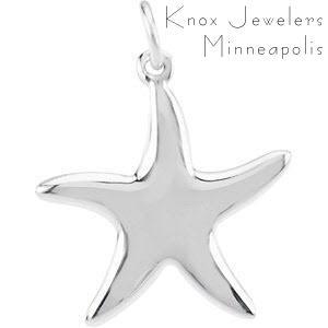 Starfish Necklace - Pendants