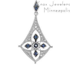 Edwardian Sapphire Drop - Best Selling Gifts