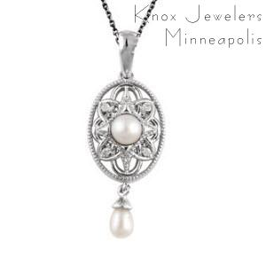 Edwardian Pearl Pendant - Best Selling Gifts - pearls