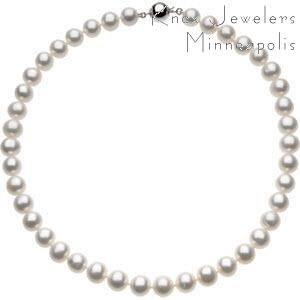 Freshwater Pearl Necklace - Pearls - pearls