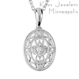 Oval Filigree - Gifts Under $200