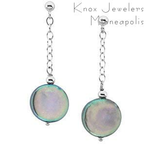 Coin Earrings - Gifts Under $100 - pearls