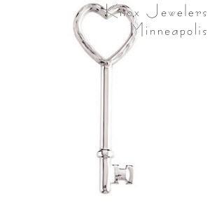 Heart Key - Pendants