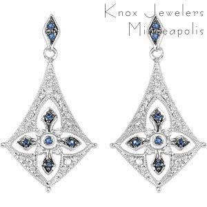 Edwardian Sapphire Drops - Edwardian Collection
