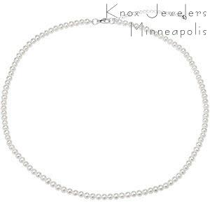 Adjustable Pearl Necklace - Pearls