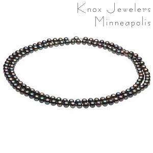 Black Pearl Strand - Pearls