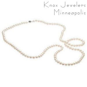 "42"" White Pearl Strand - Best Selling Gifts"