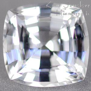 Sapphire Cushion 1.21 carat White Photo