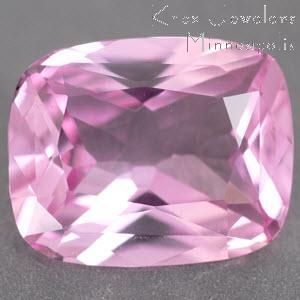 Sapphire Cushion 3.15 carat Pink Photo