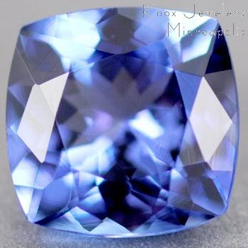 Tanzanite Cushion 1.10 carat Blue Photo