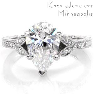 Rose gold rings rose gold rings minneapolis minnesota for Wedding rings minneapolis