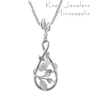 Infinity Leaf - Pendants