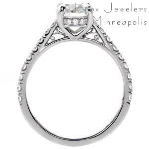 Vintage antique engagement rings in phoenix for Wedding rings phoenix az