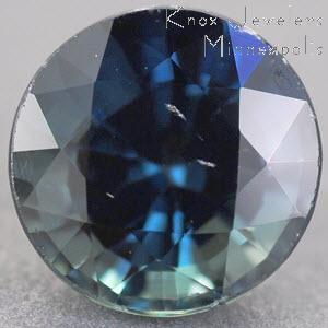 Sapphire Round 1.12 carat Blue Photo