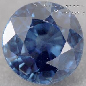 Sapphire Round 0.92 carat Blue Photo