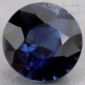 Sapphire Round 1.13 carat Blue Photo