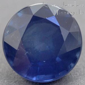 Sapphire Round 1.11 carat Blue Photo