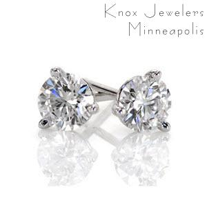 Image for 1 ct Martini Studs