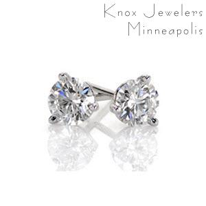 Image for 2/3 ct Martini Studs
