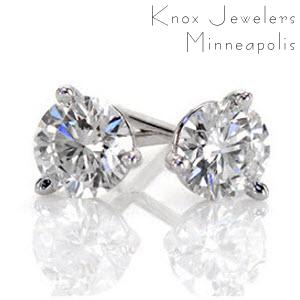 Image for 2.00 ct Martini Studs