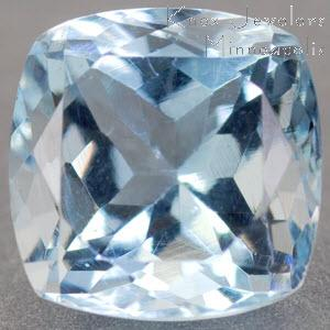 Aqua Cushion 1.58 carat Blue Photo