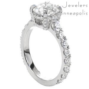 Dazzling classic Diamond Engagement Rings in Knoxville.