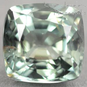 Sapphire Cushion 1.29 carat Green Photo