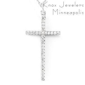 Diamond Cross - Pendants