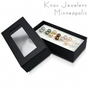 Colored Pearl Stud Set - New Gifts