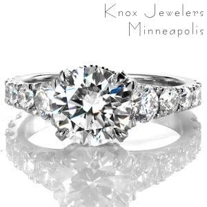 Design 3352 - Classic Engagement Rings