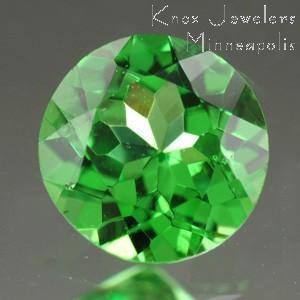 Garnet Round 0.74 carat Green Photo