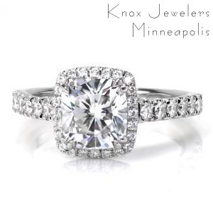 Design 3425 - Micro Pavé Engagement Rings