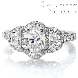 Design 3434 - Micro Pavé Engagement Rings