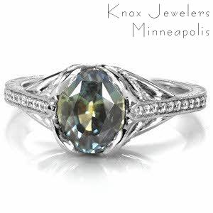 Design 3441 - Micro Pavé Engagement Rings
