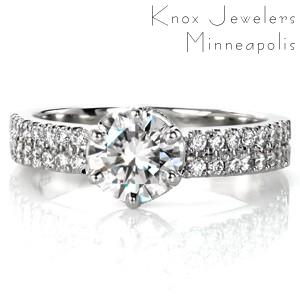 Design 3453 - Classic Engagement Rings