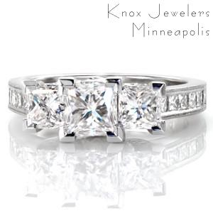 Design 3463 - Classic Engagement Rings