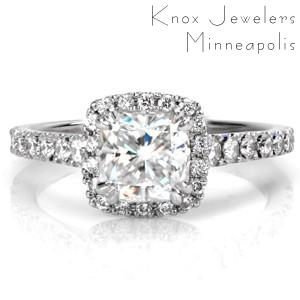 Design 3478 - Micro Pavé Engagement Rings