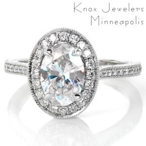 Design 3484 - Micro Pavé Engagement Rings