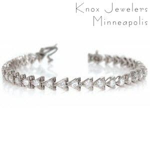 Diamond Tennis Bracelet - Bracelets