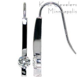 Diamond Drops - Earrings
