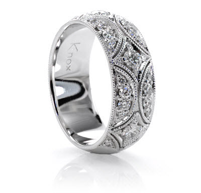 knox jewelers unique wedding bands unique wedding rings. Black Bedroom Furniture Sets. Home Design Ideas